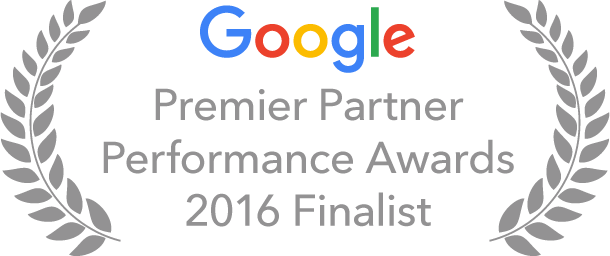 Google Partner Performance Awards 2016 Badge